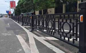 铁艺护栏 - 铁艺护栏 - 眉山中出网-城市出入口设备门户