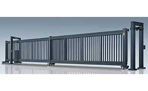 分段平移门 - 第二代分段平移门-凯歌-L - 六安中出网-城市出入口设备门户