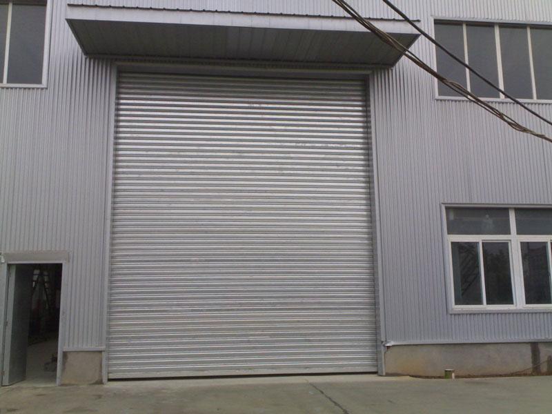 不锈钢卷帘门 - 不锈钢卷帘门 - 六安中出网-城市出入口设备门户