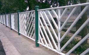 铁艺护栏 - 铁艺护栏2 - 六安中出网-城市出入口设备门户