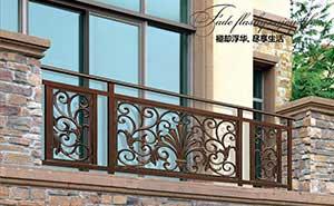 铝艺护栏 - 护栏FGL-H6008 - 六安中出网-城市出入口设备门户