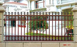围墙护栏 - 围墙护栏 - 荆门中出网-城市出入口设备门户