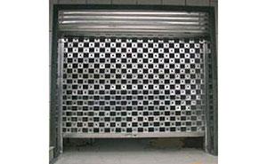 不锈钢卷帘门 - 不锈钢卷帘门 - 丹东中出网-城市出入口设备门户