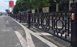 铁艺护栏 - 铁艺护栏 - 丹东中出网-城市出入口设备门户