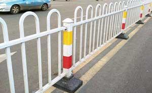 道路护栏 - 京式道路护栏6 - 吕梁中出网-城市出入口设备门户