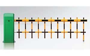 栅栏道闸 - TL-260单层栏栅道闸 - 攀枝花中出网-城市出入口设备门户