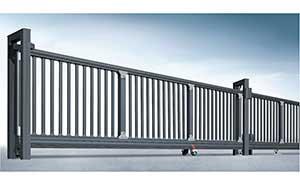 分段平移门 - 宙斯盾平移门 - 淮南中出网-城市出入口设备门户