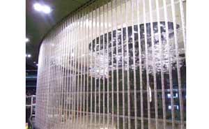 水晶卷帘门 - 水晶卷帘门7 - 淮南中出网-城市出入口设备门户