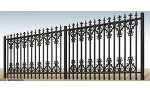 围墙护栏 - 别墅围栏 - 北海中出网-城市出入口设备门户