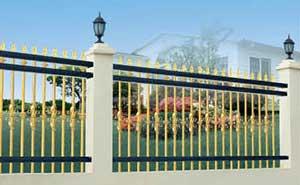 围墙护栏 - 围墙护栏 - 北海中出网-城市出入口设备门户