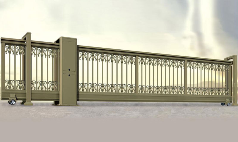 直线平移门 - 智能直线平移门002 - 佳木斯中出网-城市出入口设备门户
