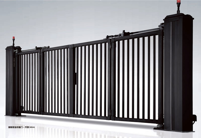 电动折叠门 - 智能悬浮折叠门-开泰DD4A - 佳木斯中出网-城市出入口设备门户