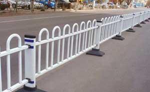 道路护栏 - 京式道路护栏7 - 河源中出网-城市出入口设备门户