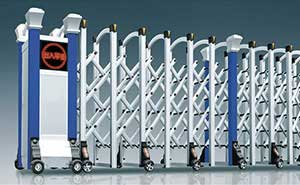 铝合金伸缩门 - 华美-L - 随州中出网-城市出入口设备门户