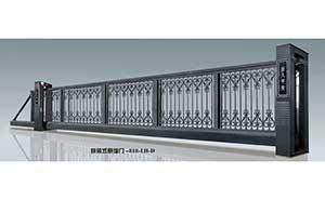 悬浮平移门 - 悬浮门818-LH-D - 随州中出网-城市出入口设备门户
