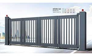 电动折叠门 - 智能悬浮折叠门-XFZD-X2 - 随州中出网-城市出入口设备门户