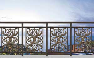 铝艺护栏 - 护栏FGL-H6003 - 随州中出网-城市出入口设备门户