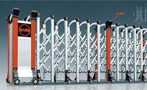 铝合金伸缩门 - 华美-H - 安康中出网-城市出入口设备门户