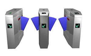 翼闸 - 桥式斜角翼闸c6014F - 安康中出网-城市出入口设备门户