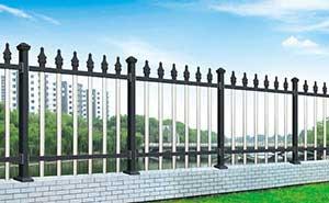 铝艺护栏 - FGL 护栏 05(深灰色) - 安康中出网-城市出入口设备门户