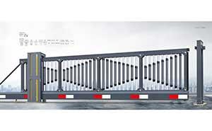 悬浮平移门 - 智能悬臂门918B-BS(深灰) - 鄂州中出网-城市出入口设备门户