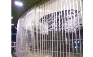 水晶卷帘门 - 水晶卷帘门7 - 鄂州中出网-城市出入口设备门户