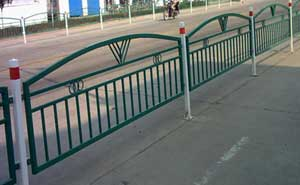 铁艺护栏 - 铁艺护栏4 - 白城中出网-城市出入口设备门户
