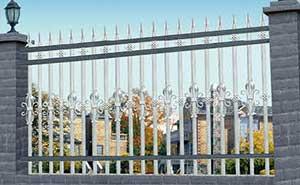 围墙护栏 - 围墙护栏 - 白城中出网-城市出入口设备门户