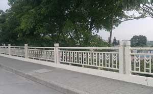 崇左生态公园道路护栏案例
