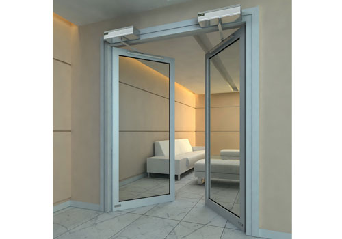 自动平开门 - 自动平开门B007 - 莱芜中出网-城市出入口设备门户