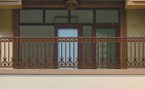 铝艺护栏 - 护栏FGL-H6006 - 广元中出网-城市出入口设备门户