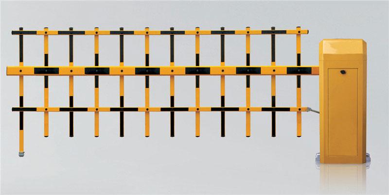 栅栏道闸 - TL-260双层栏栅道闸 - 三亚中出网-城市出入口设备门户