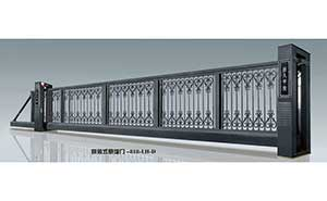 悬浮平移门 - 悬浮门818-LH-D - 白银中出网-城市出入口设备门户