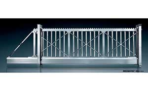 悬浮平移门 - 拼装式悬浮平移门-锐宝818-S - 白银中出网-城市出入口设备门户