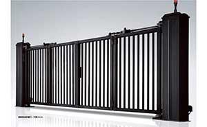 电动折叠门 - 智能悬浮折叠门-开泰DD4A - 白银中出网-城市出入口设备门户