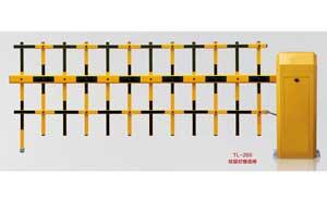 栅栏道闸 - 073-2 TL-260双层栏栅道闸 - 白银中出网-城市出入口设备门户