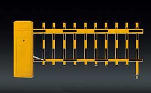 栅栏道闸 - BS-306A-A-单层栏栅道闸 - 白银中出网-城市出入口设备门户