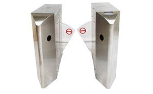 翼闸 - 尖角翼闸1 - 白银中出网-城市出入口设备门户
