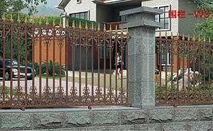 围墙护栏 - 围墙护栏 - 白银中出网-城市出入口设备门户