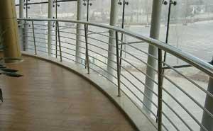 不锈钢护栏 - 不锈钢护栏1 - 白银中出网-城市出入口设备门户