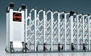 铝合金伸缩门 - 华美-Y - 拉萨中出网-城市出入口设备门户