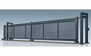 分段平移门 - 第二代分段平移门-凯歌-LB - 鹤岗中出网-城市出入口设备门户