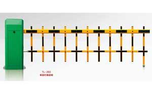 栅栏道闸 - 073-3 TL-260单层栏栅道闸  - 鹤岗中出网-城市出入口设备门户