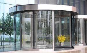 旋转门 - KA210-二十一世纪之门 - 固原中出网-城市出入口设备门户