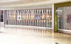 水晶卷帘门 - 水晶卷帘门3 - 固原中出网-城市出入口设备门户