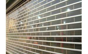 水晶卷帘门 - 水晶卷帘门 - 固原中出网-城市出入口设备门户