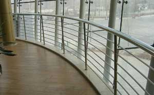 不锈钢护栏 - 不锈钢护栏1 - 固原中出网-城市出入口设备门户