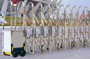 不锈钢伸缩门 - SEWO-SS8808(普通交叉门) - 中出伸缩门网