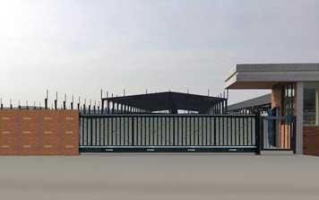 悬浮平移门 - 悬浮门 - 荆门中出网-城市出入口设备门户