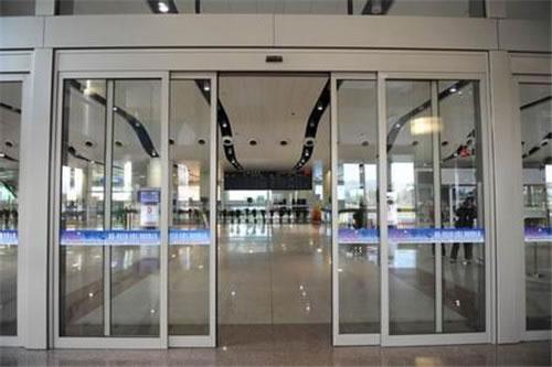 自动门 - 铝型材边框自动门 - 荆门中出网-城市出入口设备门户